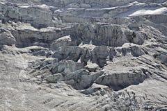 Rottura del ghiacciaio Fotografia Stock Libera da Diritti