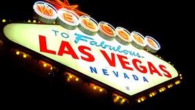 ROTTURA 7 del segno di Las Vegas archivi video