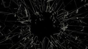 Rottura del vetro in HD pieno