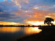 Rottura dell'alba fotografie stock libere da diritti