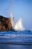 Rottura dell'onda Fotografie Stock