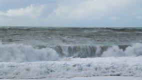 rottura delle onde di oceano archivi video