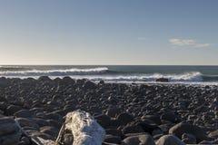 Rottura rocciosa del punto Fotografia Stock