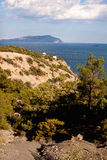 Rottura sabbiosa sulla spiaggia Immagine Stock