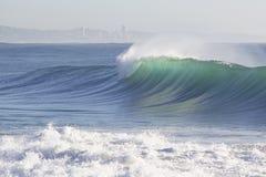 Rottura Wave Fotografie Stock Libere da Diritti