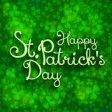 Rotulação de St Patrick Foto de Stock Royalty Free