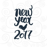 Rotulação do ano novo Foto de Stock