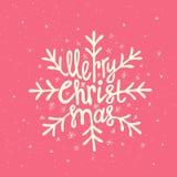 Rotulação do Natal Fotos de Stock Royalty Free