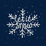 Rotulação do Natal Foto de Stock
