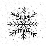 Rotulação do Natal Imagem de Stock Royalty Free