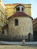 Rotunda του ιερού σταυρού - Πράγα Στοκ Φωτογραφίες