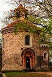 Rotunda του ST Martin, Vysehrad, Πράγα Στοκ φωτογραφία με δικαίωμα ελεύθερης χρήσης