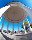 Rotunda. In the Alexandrovsky park in the city of Kirov stock images