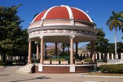 Rotunda au centre de la ville de Cienfuegos, Cuba photographie stock libre de droits