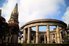 Rotunda av berömda Jalisciences Royaltyfri Foto