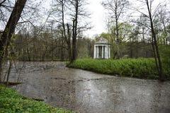 Rotunda in Bykovo royalty free stock images