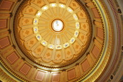 Rotunda of the California State Capitol Stock Images