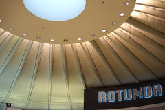 Rotunda at Chicago O'Hare airport Stock Photography