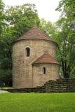 Rotunda in Cieszyn. Historical rotunda in the park in Cieszyn, Czech Republic stock images