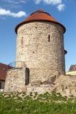 Rotunda de StCatherine no svate kateriny, cidade da rotunda de checo de Znojmo, Moravia sul, república checa imagens de stock