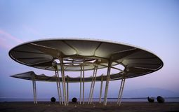 Rotunda at the Dead Sea stock image