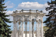 Rotunda with decorative elements Royalty Free Stock Photos