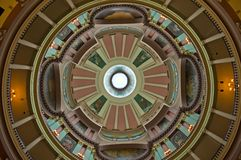 Rotunda decorato Fotografie Stock