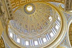 Rotunda della basilica del ` s di St Peter Fotografie Stock Libere da Diritti