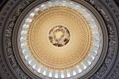 A rotunda do Capitólio dos E.U. no Washington DC imagens de stock