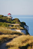 Rotunda on the edge of the cliff. Stock Images