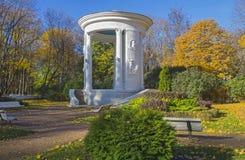 Rotunda em honra do 800th aniversário de Moscou. Fotos de Stock