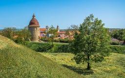 Rotunda för St George ` s, Skalica, Slovakien Royaltyfria Bilder