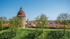 Rotunda för St George ` s, Skalica, Slovakien Royaltyfri Bild