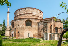 The Rotunda of Galerius. In Thessaloniki stock image