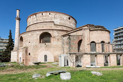 The Rotunda of Galerius in Thessaloniki. The Rotunda of Galerius or the Church of the Rotunda is the Greek Orthodox Church of Agios Georgios in Thessaloniki stock photos