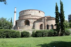 The Rotunda of Galerius, Thessaloniki, Greece Royalty Free Stock Images