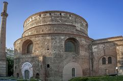 Rotunda of Galerius. Thessaloniki, Macedonia, Greece stock image