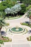 Rotunda. Hotel entrance rotunda. south Florida Royalty Free Stock Images