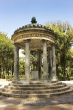 Rotunda inside garden and park complex in Villa Borghese, Rome Royalty Free Stock Images