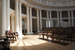 Rotunda Light Beams Stock Photography