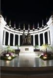 Rotunda malecon 2000. Rotunda with statues on malecon 2000 guayaquil ecuador south america night scene Stock Image