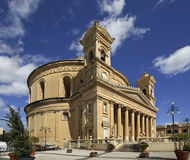 Rotunda of Mosta - church of Assumption of Our Lady. Mosta. Malta.  Royalty Free Stock Photo