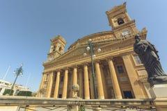 Rotunda Mosta Malta Royaltyfria Bilder