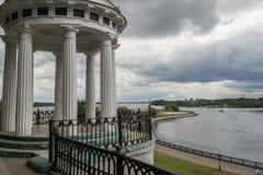 Rotunda na wzgórzu obrazy royalty free