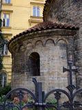 Rotunda Nalezení svatého Kříže Menšího. In the photo is one small rotunda and its Royalty Free Stock Photo