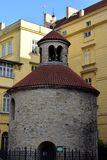 Rotunda Nalezení svatého Kříže Menšího. In the photo is one small rotunda and its Stock Photography