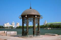 Rotunda nel centro di Yekaterinburg, Russia Fotografia Stock