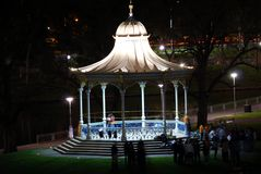 Rotunda at Night Royalty Free Stock Images