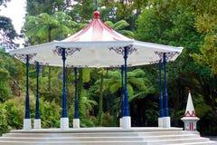 Rotunda no parque de Pukekura Imagens de Stock Royalty Free