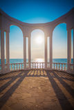 Rotunda over the South Bay. Crimea, Russia Stock Photo